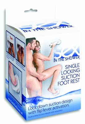Sex in The Shower Suction  Foot Rest